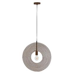J-Line Hanglamp 'Huberte' kleur Roest