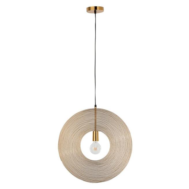 J-Line Hanglamp 'Huberte' kleur Goud