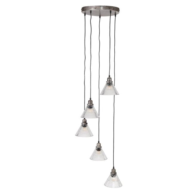 Hanglamp 'Sigourney' 5-lamps