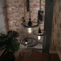 Industriële Hanglamp 'Judi' 3-lamps, Ø20cm