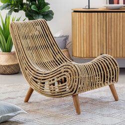 Kave Home Fauteuil 'Tika'