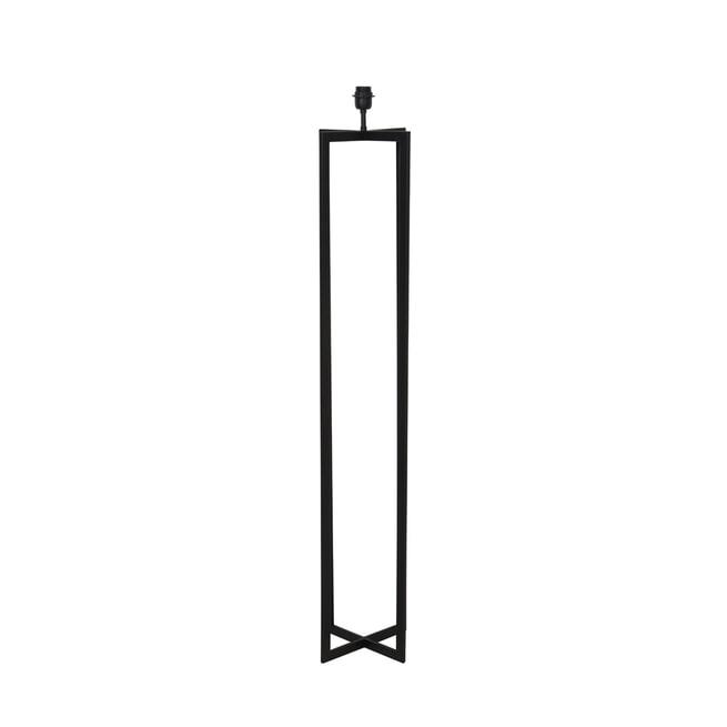 Light & Living Vloerlamp 'Mace' kleur Mat Zwart