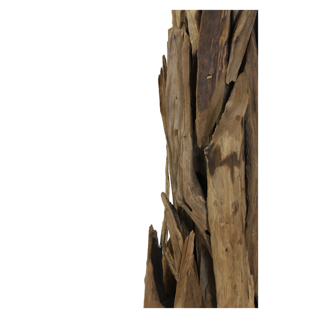 Light & Living Vloerlamp 'Margret', hout naturel