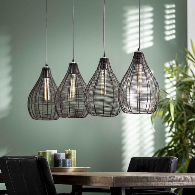Hanglamp 'Lawrence' 4-lamps
