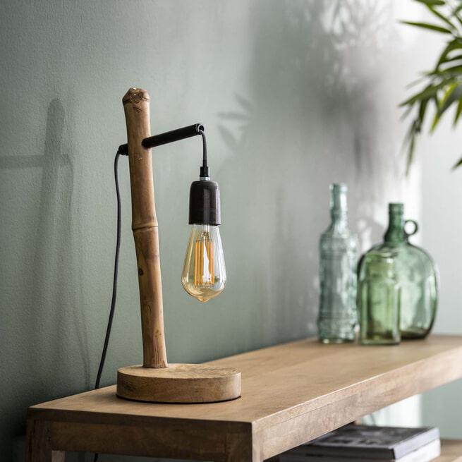 Tafellamp 'Gigi' Bamboe, 45cm