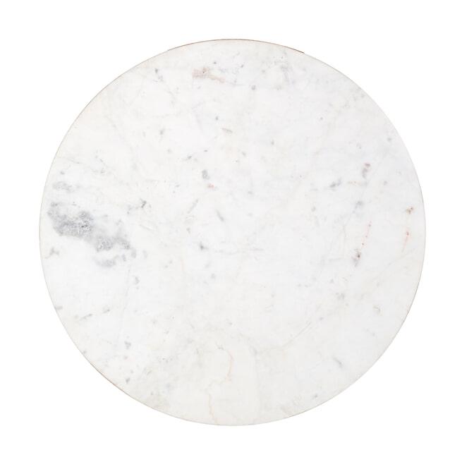 Richmond Salontafel 'Jackson' kleur Goud / Grijs, Ø 51cm