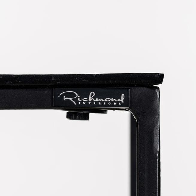 Richmond Zuil 'Bolder' Set van 2 stuks, kleur Zwart