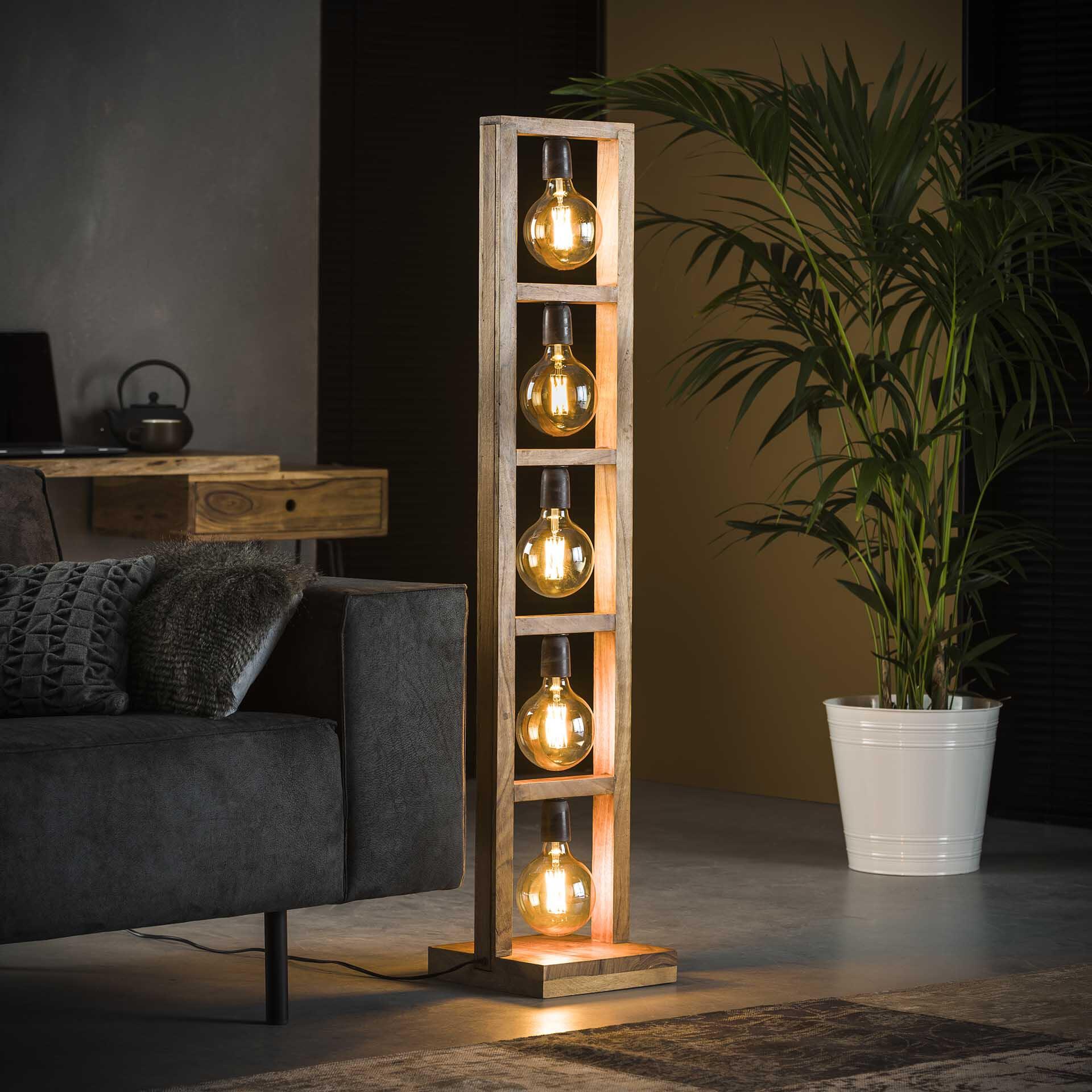 Vloerlamp 'Salora' 135cm hoog
