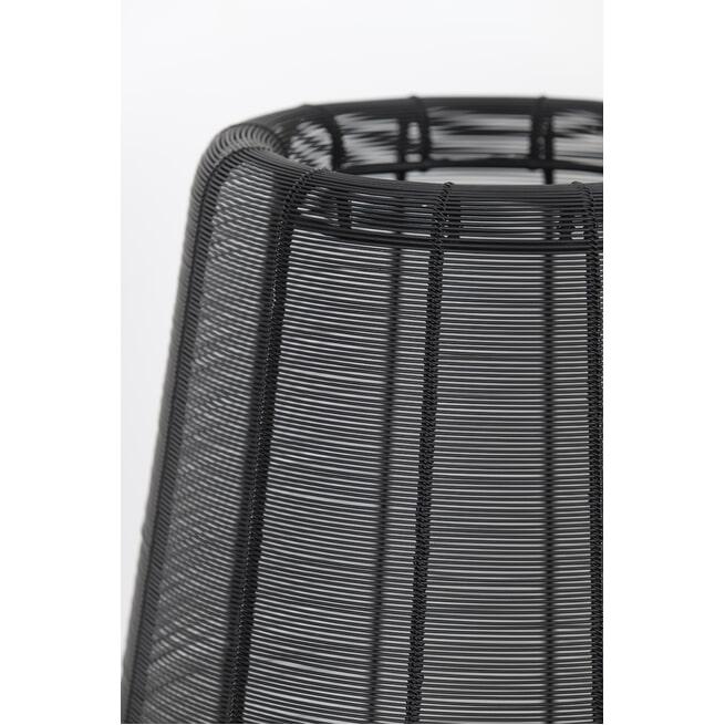 Light & Living Vloerlamp 'Adeta' mat zwart