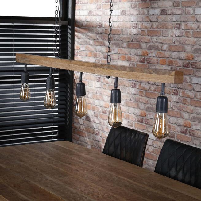 Hanglamp 'Wanda' 5-lamps