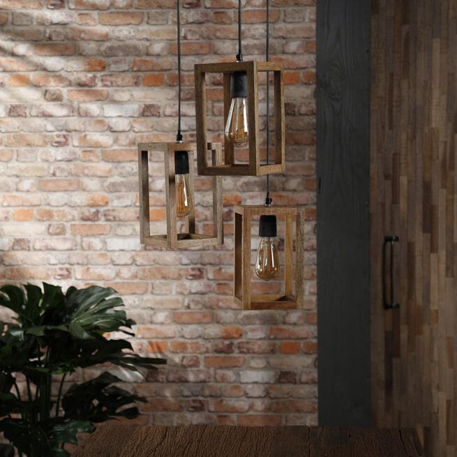 Hanglamp 'Thelma' 3-lamps