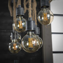 Hanglamp 'Cush' 7-lamps