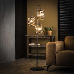 Vloerlamp 'Kristina' 3-lamps