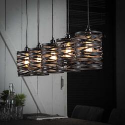 Hanglamp 'Kristina' 5-lamps