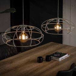 Dubbele Hanglamp 'Crispin' Ø50cm