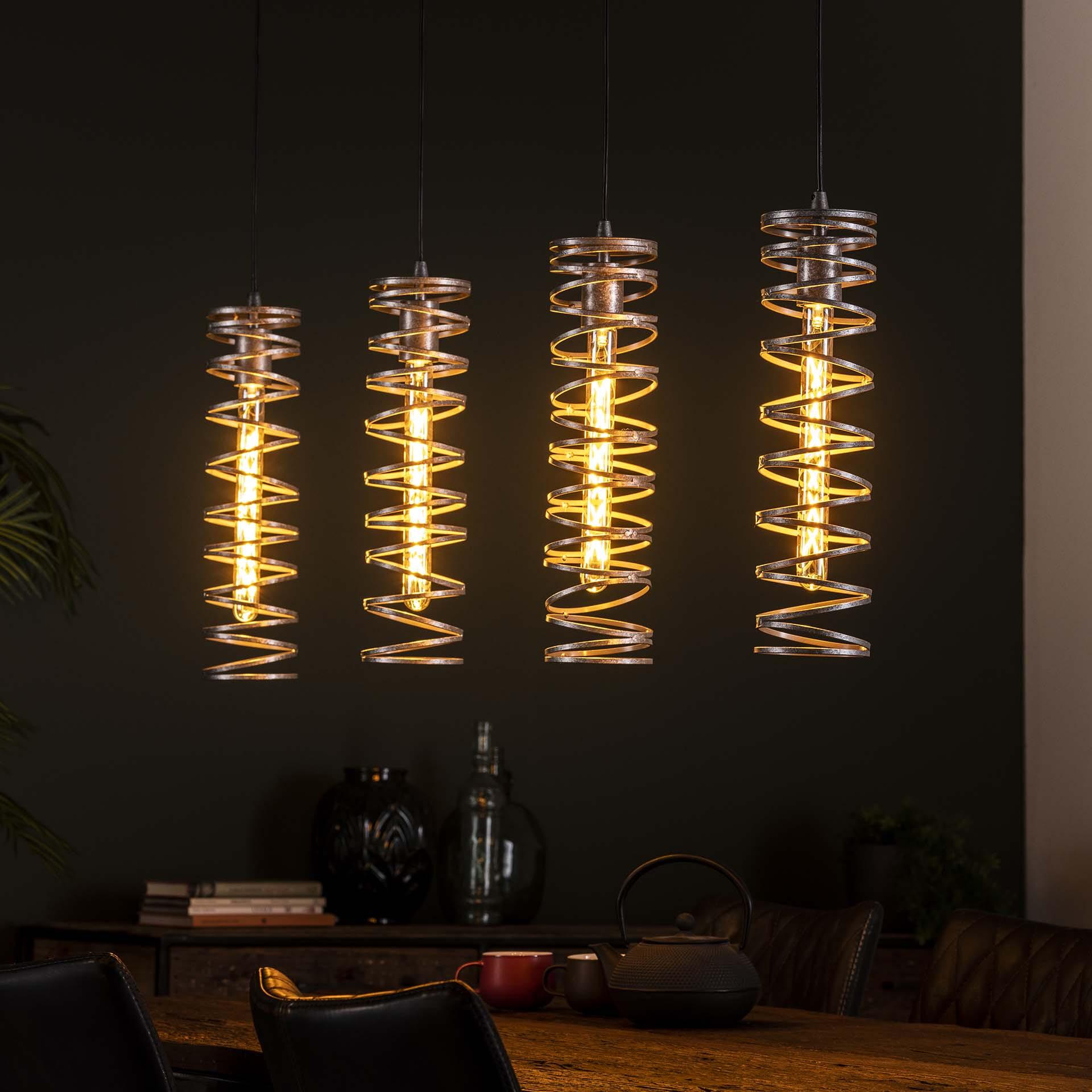 Hanglamp 'Alma' 4-lamps