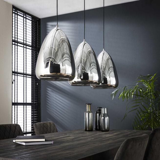 Hanglamp 'Cassandra' kleur Chrome