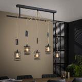 LifestyleFurn Hanglamp 'Elevate' 5-Lamps, kleur Metaal