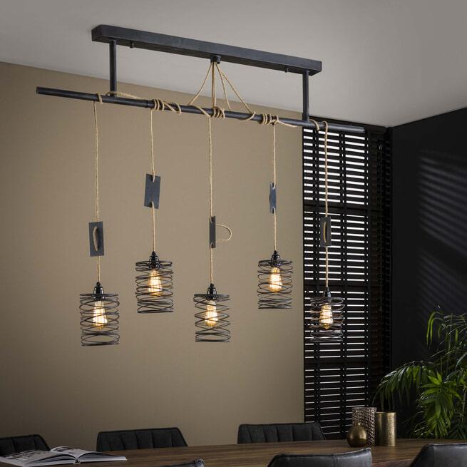 LifestyleFurn Hanglamp 'Elevate' kleur Metaal