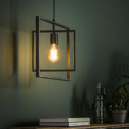 Hanglamp 'Shaun', Metaal, kleur Zwart