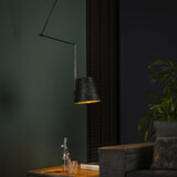 Hanglamp 'Jo' Ø25cm, kleur Charcoal
