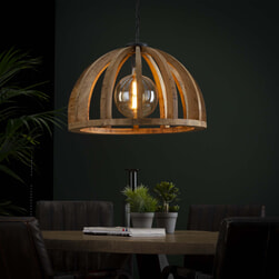 Hanglamp 'Lindsay' Ø60cm, Mangohout