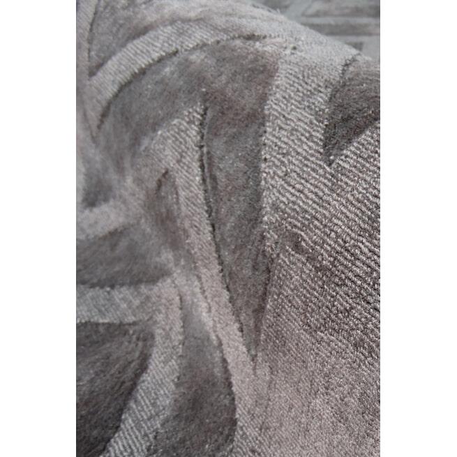 Kayoom Vloerkleed 'Luxury 410' kleur Grijs / Antraciet