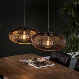 Hanglamp 'Mallory' Ø43cm, 2-lamps