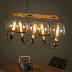 Hanglamp 'Maureen' 5-lamps