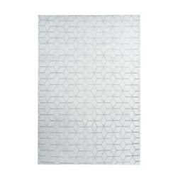 Kayoom Vloerkleed 'Vivica 125' kleur Wit / Grijsblauw, 80 x 150cm