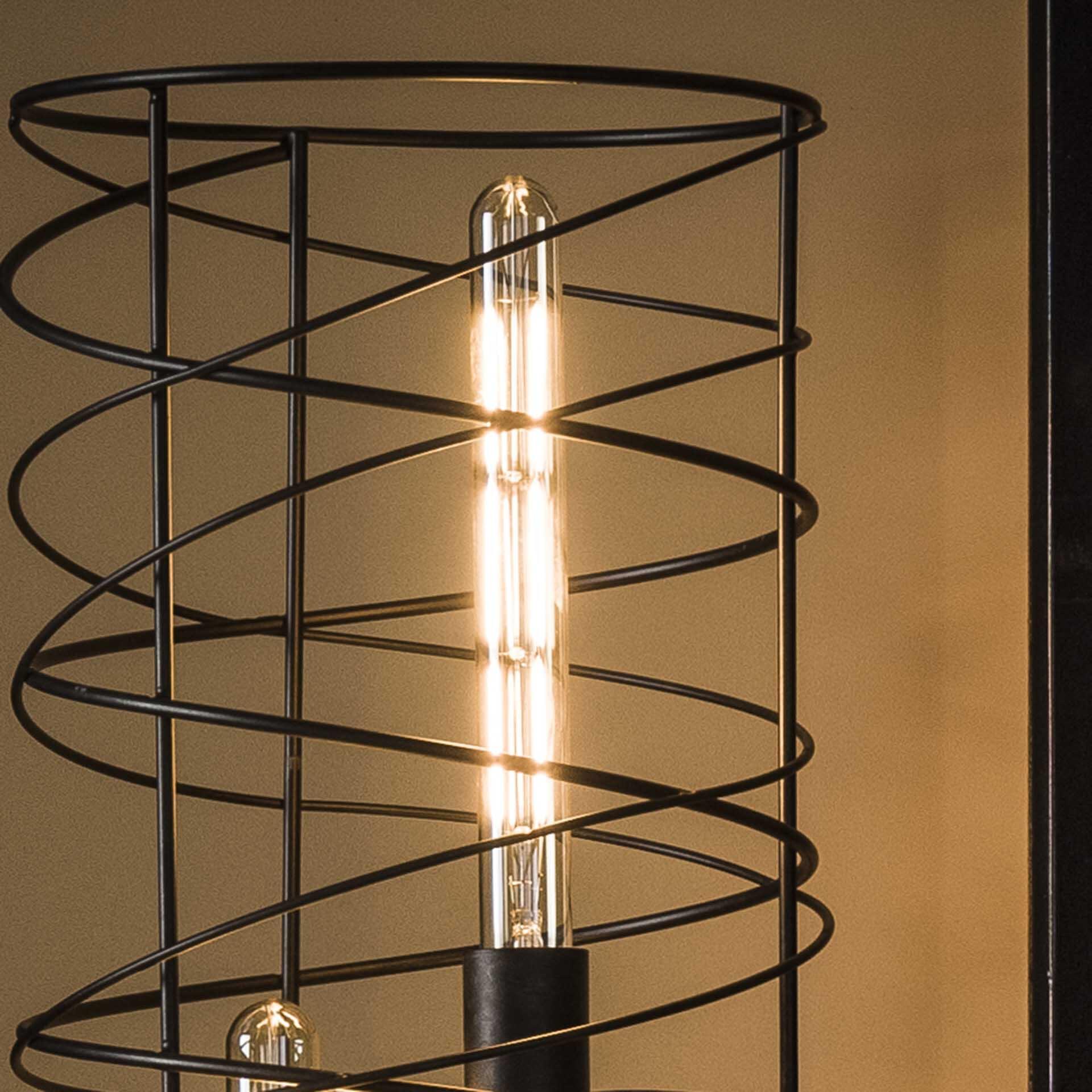 Kooldraadlamp 'Buis' E27 LED 4W goldline 30cm, dimbaar