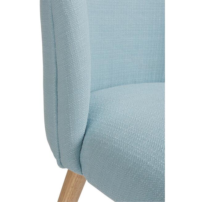 J-Line Eetkamerstoel 'Vincent' kleur Blauw