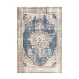Kayoom Vloerkleed 'Vintage 8400' kleur crème / blauw, 160 x 230cm