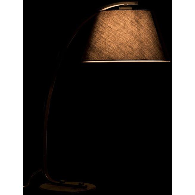 J-Line Tafellamp 'Malvina' kleur Zwart