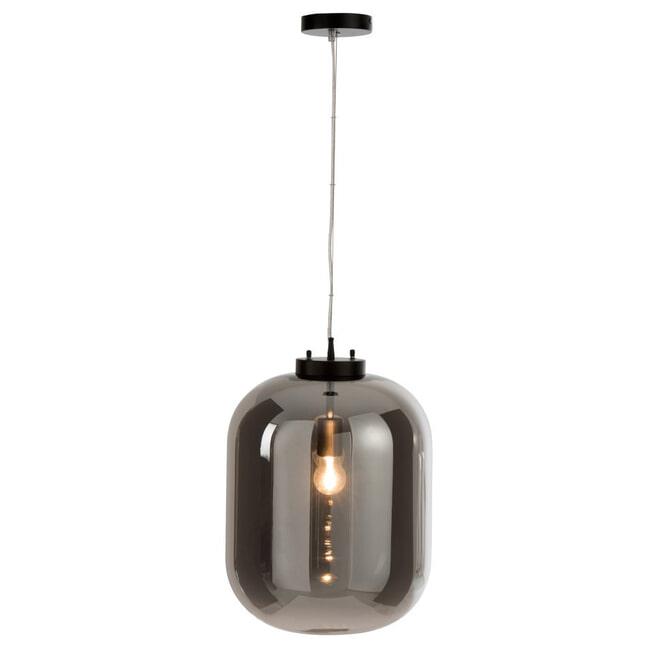 J-Line Hanglamp 'Gustaaf' kleur Zilver, Ø35,5cm