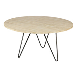 vtwonen Ronde Eettafel 'Circle' 150cm, kleur Oak