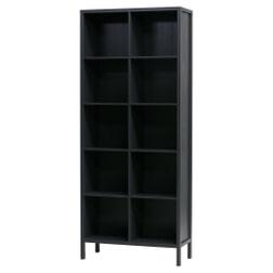 WOOOD Boekenkast 'Laura' 90cm, kleur Zwart