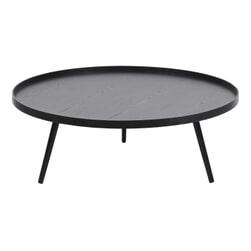 WOOOD Bijzettafel 'Mesa' 100cm, kleur Zwart