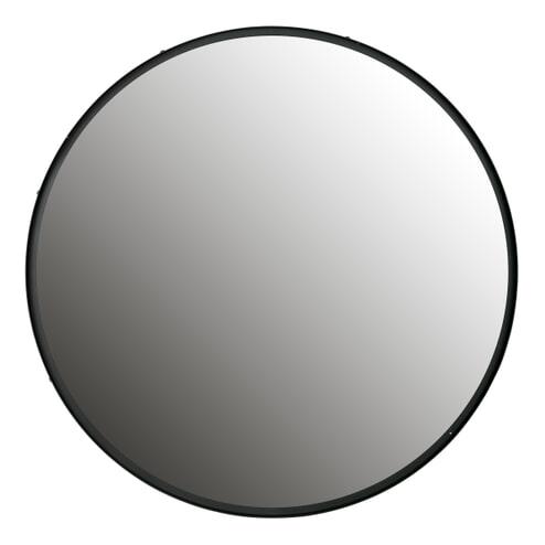 WOOOD Spiegel 'Lauren' 100cm, kleur Zwart