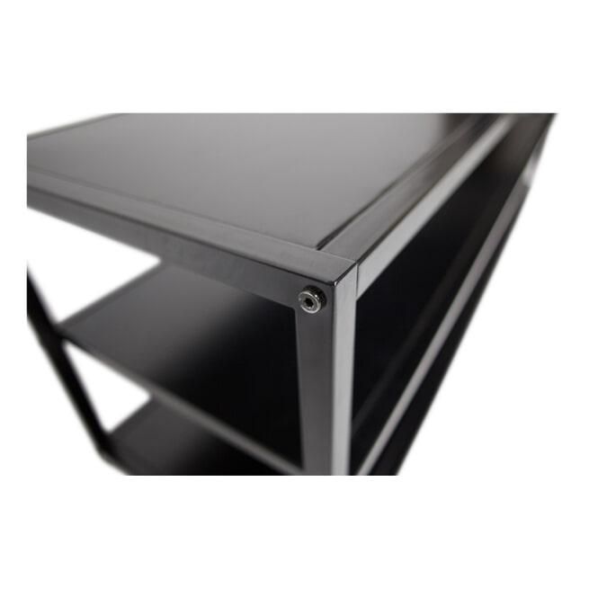 WOOOD TV-meubel 'Teun' 120cm, kleur Zwart