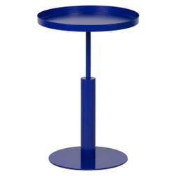 WOOOD Bijzettafel 'Silke' 60 x 40cm, kleur Blauw