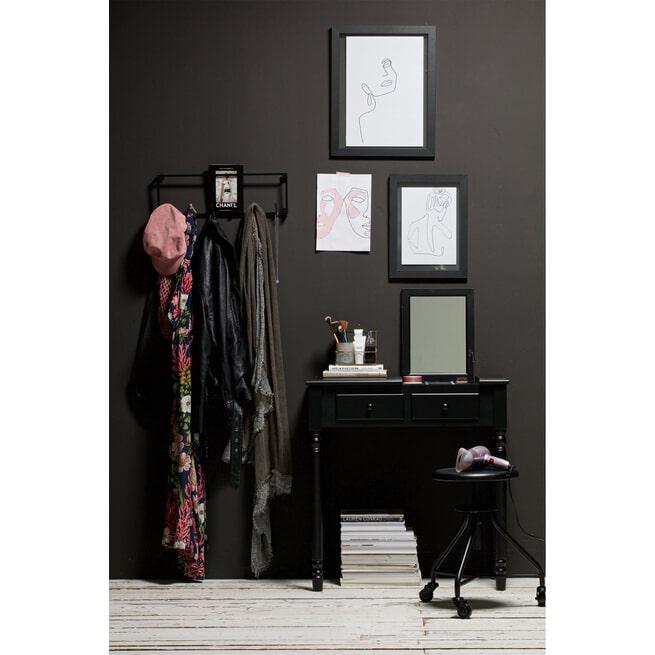 WOOOD Sidetable 'Romy' kleur Zwart