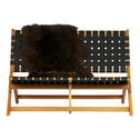 WOOOD Tuinbank 'Lois' kleur Zwart