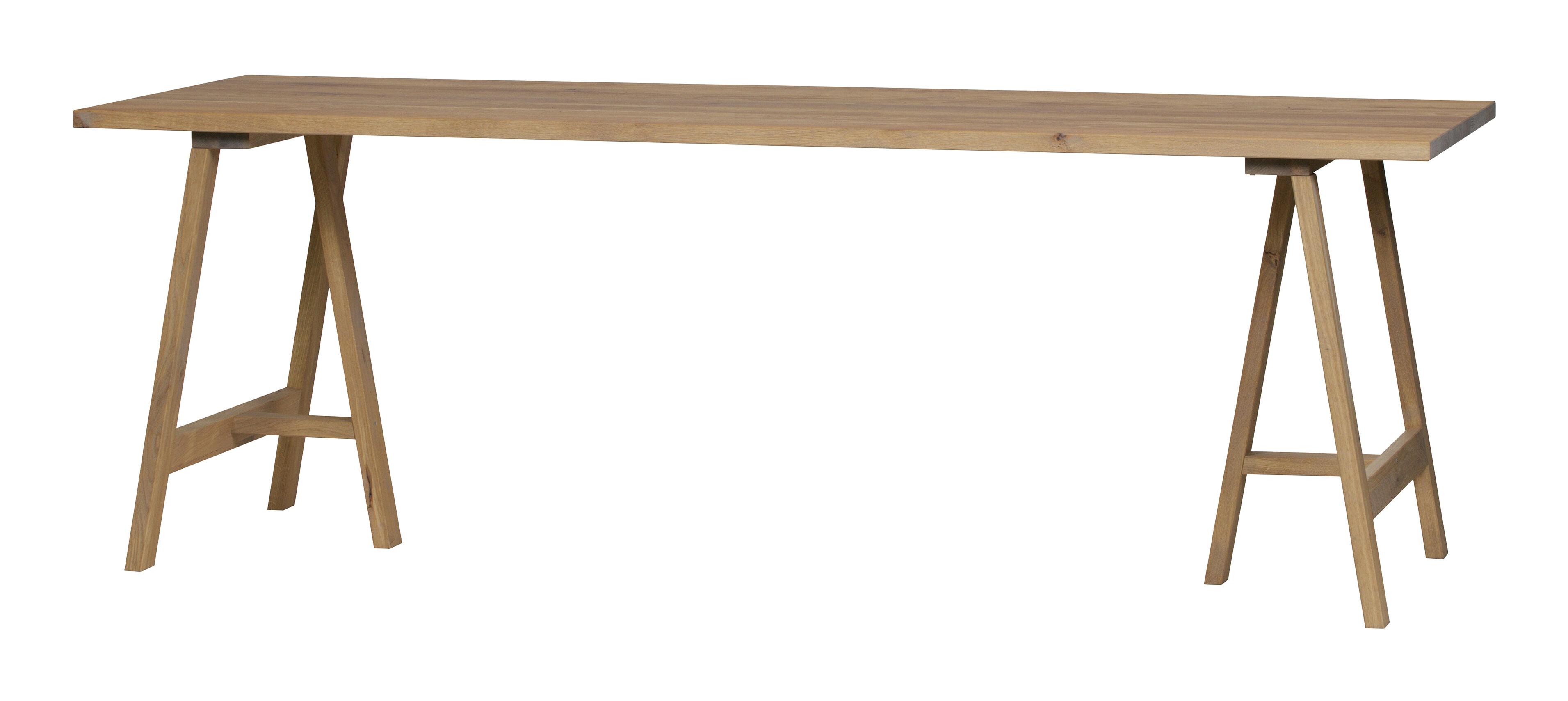 vtwonen Eettafel 'Panel' 220 x 80cm met voordeel snel in huis via Meubel Partner