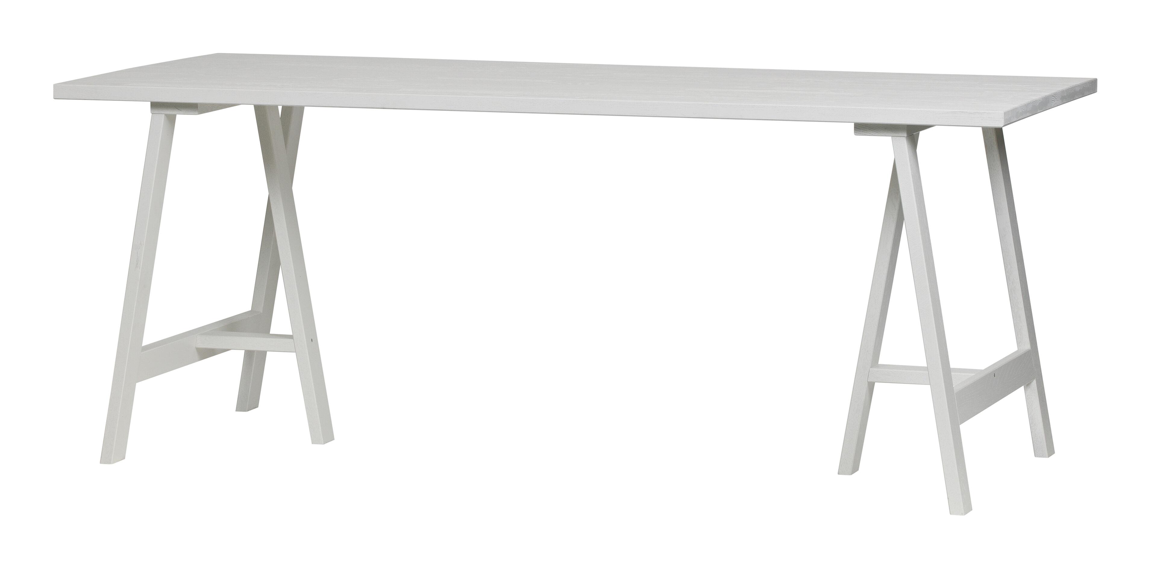vtwonen Eettafel 'Panel' 220 x 80cm, kleur Wit met voordeel snel in huis via Meubel Partner