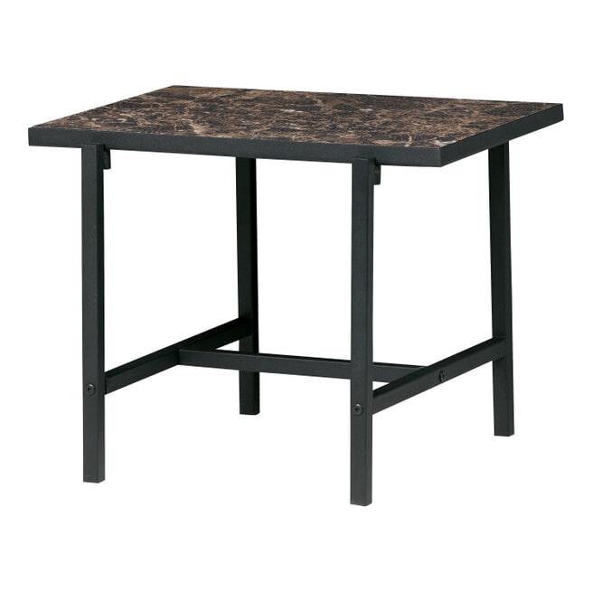 BePureHome Bijzettafel 'Turn' 50 x 44cm, kleur Zwart