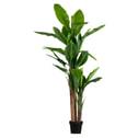 WOOOD Kunstplant 'Bananenplant' 195cm hoog