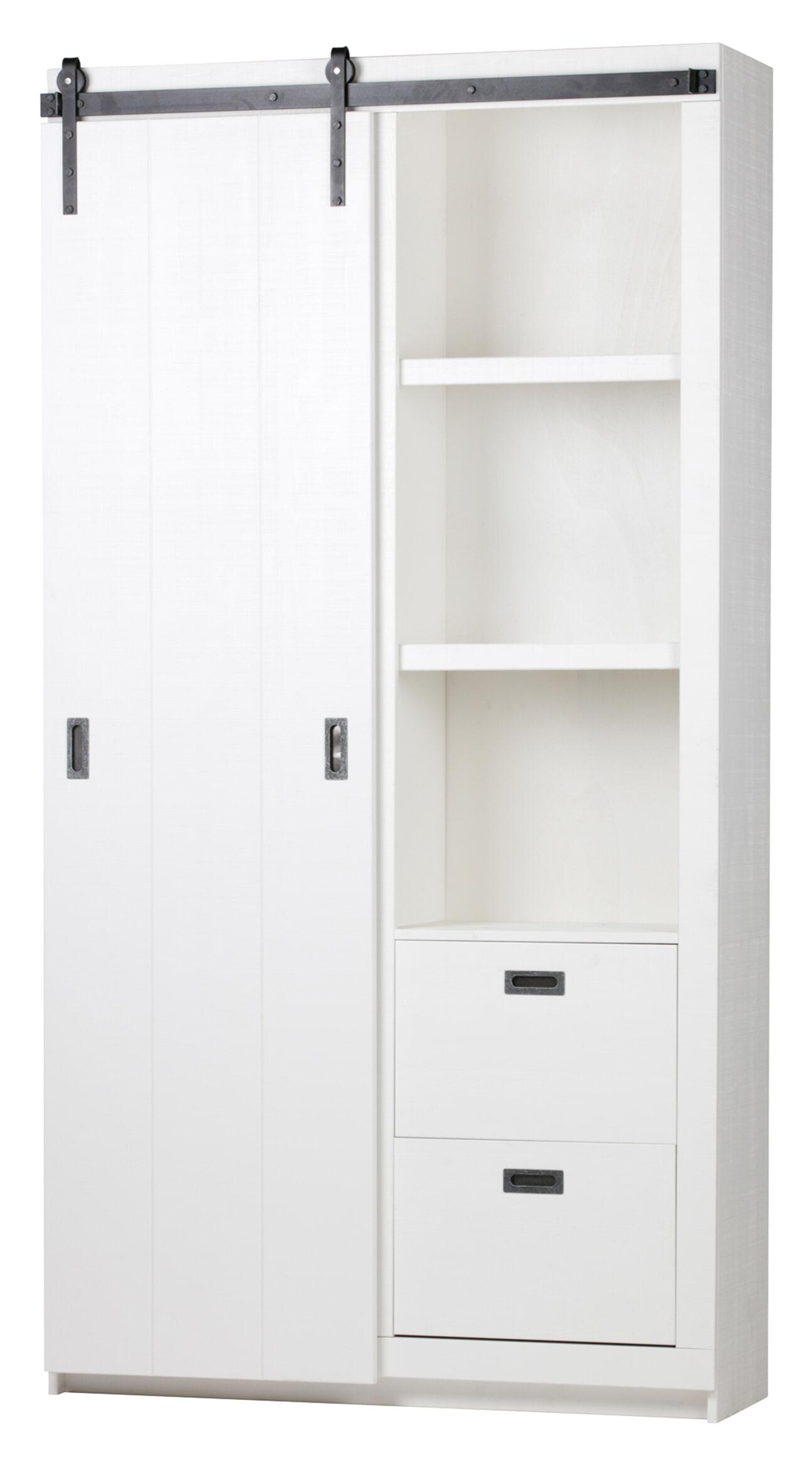 vtwonen Opbergkast 'Slide', kleur Wit