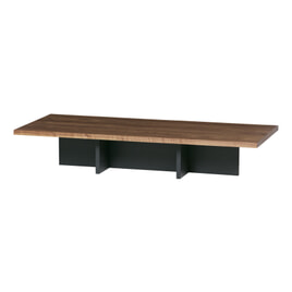 WOOOD Salontafel 'James' 137 x 60cm, kleur Zwart