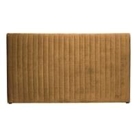 BePureHome Hoofdbord 'Snooze' Velvet 177cm, kleur honinggeel